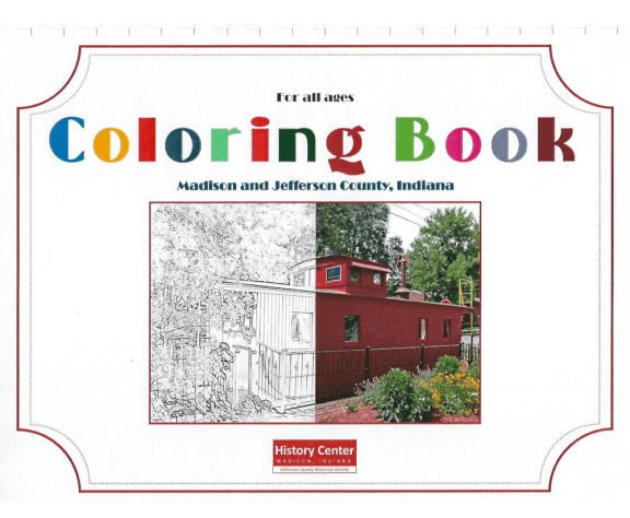 Picture of the cover of a book titled Coloring Book