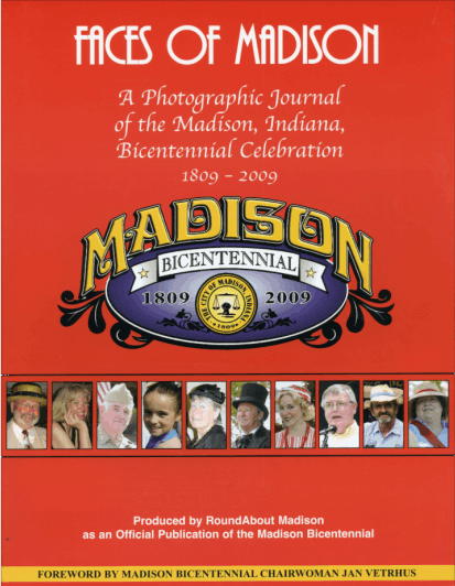 Picture of the cover of a book titled Faces of Madison