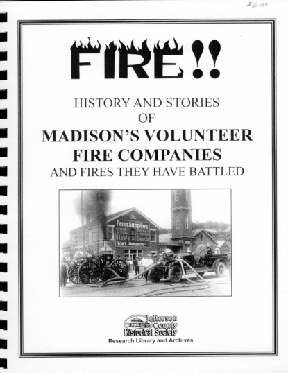 Picture of the cover of a book titled Fire