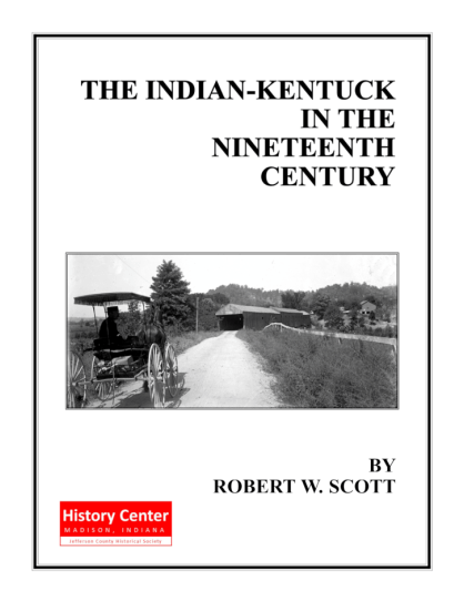 Picture of the cover of a book titled The Indian-Kentuck in the Nineteenth Century