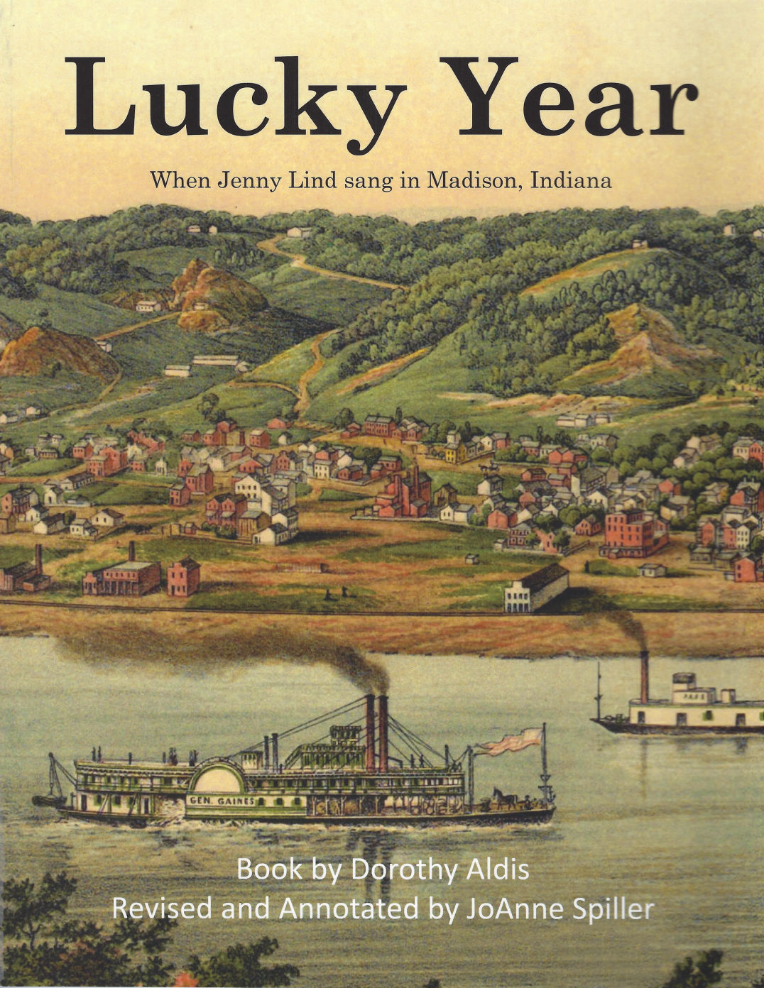 Picture of cover of book titled Lucky Year